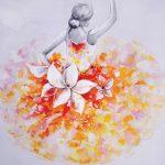 toile-figuratif-012-Femme-florale-60x60cm