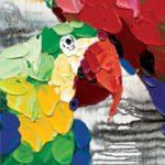 toile-figuratif-014-Perroquets-30x90cm