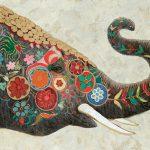 toile-figuratif-Elephant-indou-80x120cm