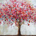 toile-floral-Toile-arbre-fuchs-70x140cm