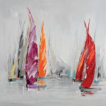 toile-marin-Voiliers-80x80cm